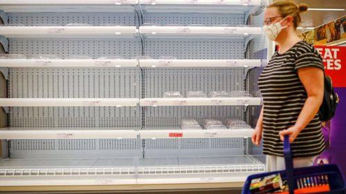 Bate o criză fără precedent la ușă: bunurile și alimentele pot dispărea de pe rafturi, în preajma sărbătorilor. Totul pleacă din China