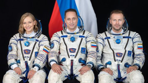 Primul lungmetraj filmat în spațiu vine din Rusia și se realizează pe Stația Spațială Internațională